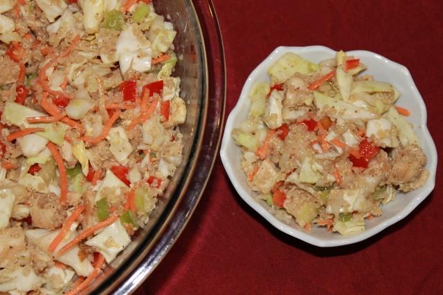 Asian Chicken Salad with Quinoa Recipe