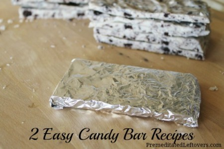 2 Easy Candy Bar Recipes