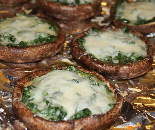 Stuffed Portabello Mushrooms could be an expensive dish, but I am ...