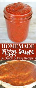 Learn how to make homemade pizza sauce from tomato sauce.
