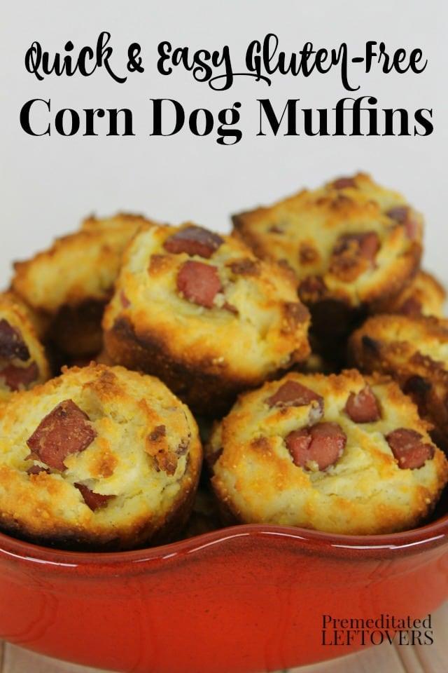 Gluten-free corn dog muffins recipe