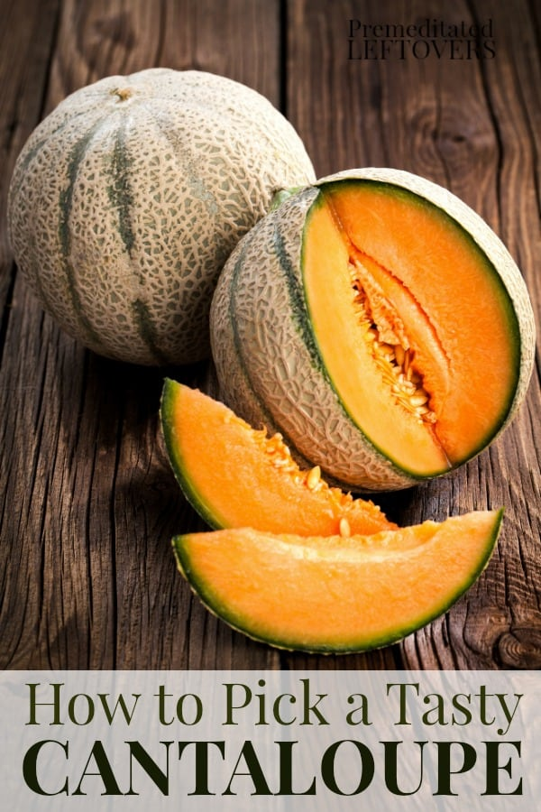 Use this trick for how to pick a delicious cantaloupe every time!