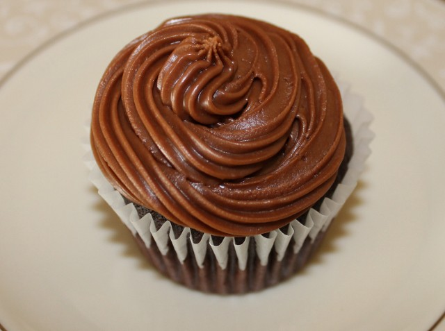 Mocha Fudge Cupcakes with Mocha Fudge Frosting