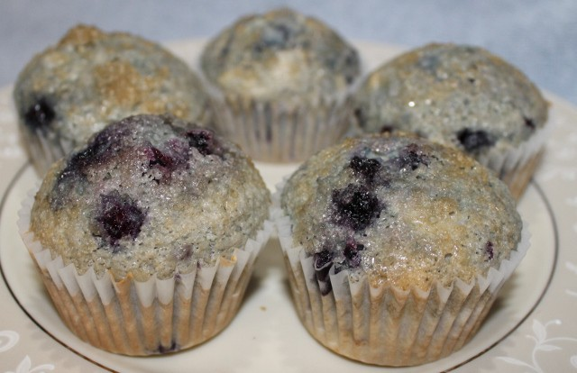 Gluten-Free Blueberry Muffins Recipe