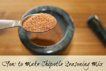 How to make Chipotle Seasoning Mix - An easy homemade chipotle spice mix recipe.