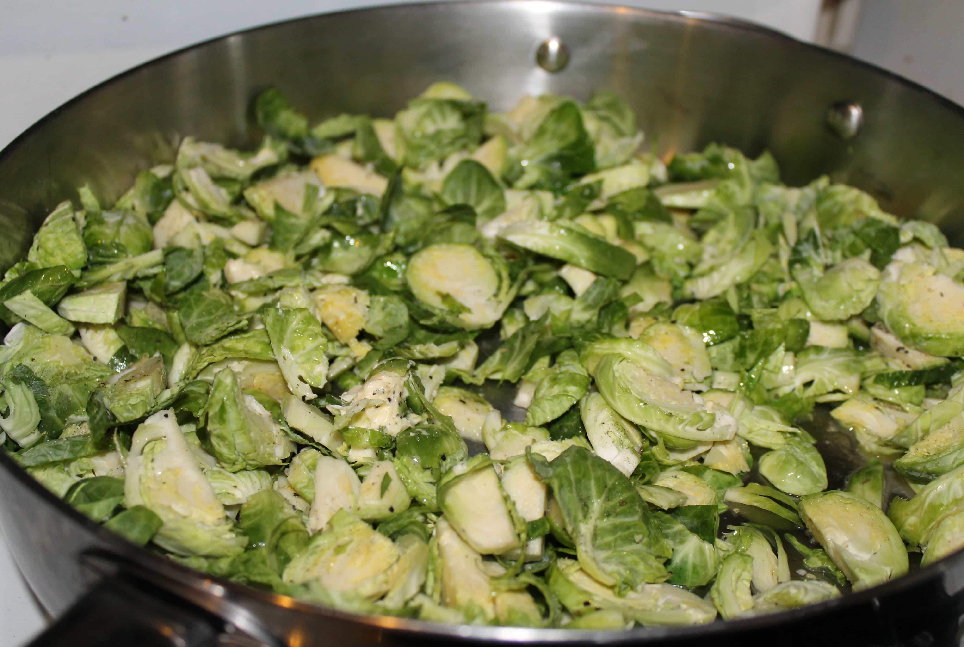 Lemon Pepper Brussels Sprouts Recipe