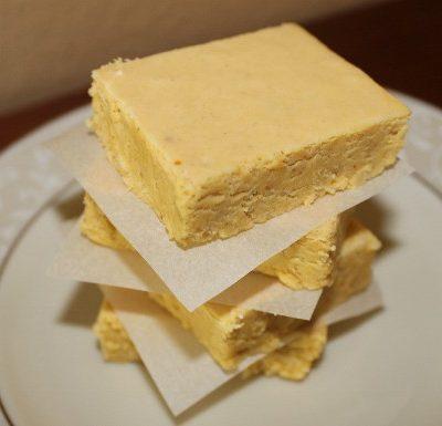 Pumpkin Fudge Recipe with Chai Spices