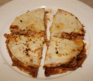 Barbecue Chicken Quesadillas Recipe
