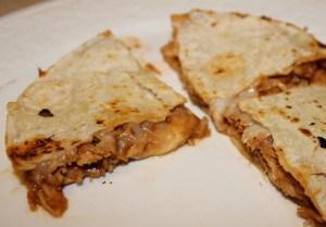 BBQ Chicken Quesadillas Recipe