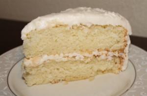 GlutenFree Vanilla Cake