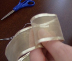 How to Make a Fancy Bow step 1
