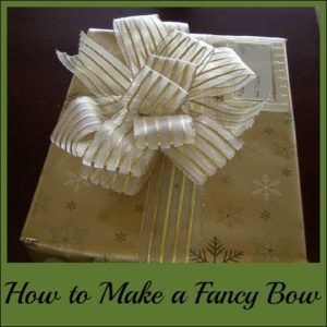 How to create a reusable bow with ribbon and wire
