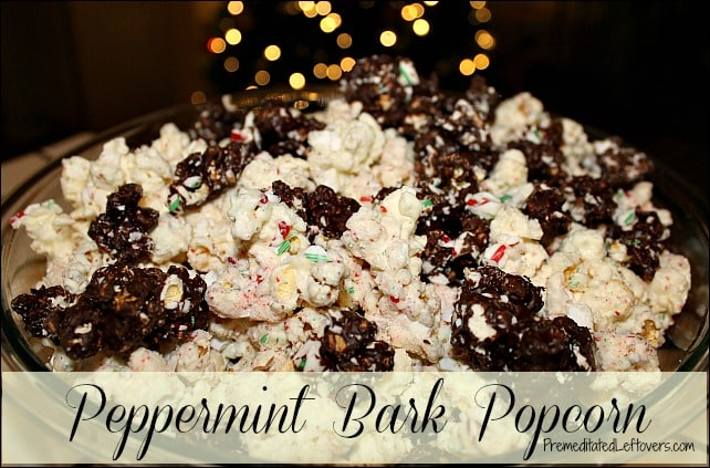 Peppermint Bark Popcorn Recipe