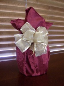 How to make a homemade fancy bow with wired ribbon