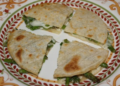 Asparagus Quesadilla Recipe