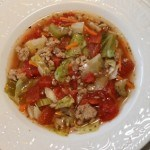 Cabbage Roll Soup with Turkey Recipe - This soup is a quick and easy alternative to making cabbage rolls and every bit as delicious!