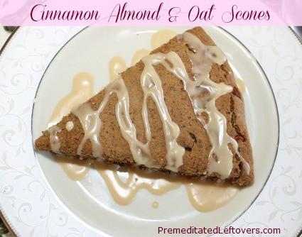Cinnamon Almond and Oat Sconesusing Cinnamon Stick tea from Bigelow tea #AmericasTea #Cbias