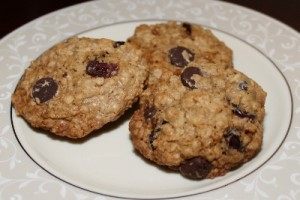 Gluten-Free Oatmeal Cranberry Cookies (400x267)