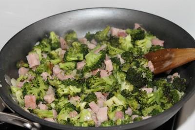 Ham and Broccoli Frittata Recipe