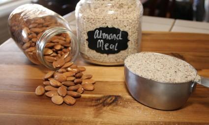 How to Make Almond Meal or Almond flour or Almond Powder
