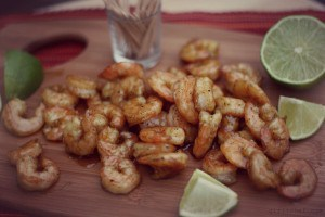 Sugar and Spice Roasted Shrimp Recipe