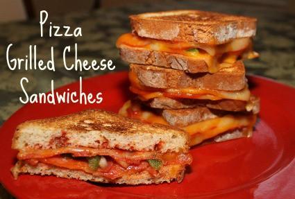 Aleas Pizza Grilled Cheese Sandwich Recipe