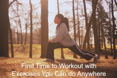 Finding time to Exercise