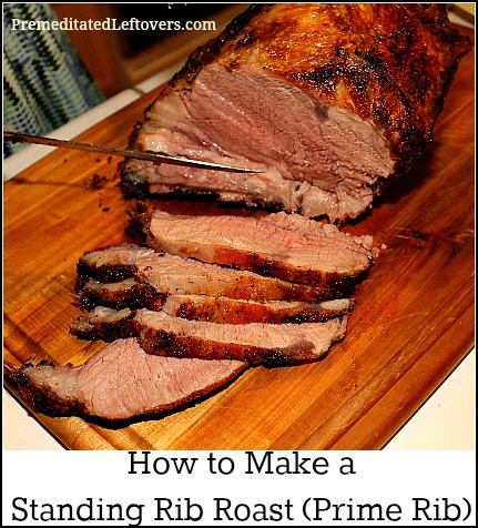 How do you cook a beef standing rib roast