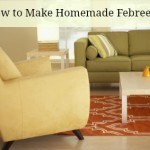 How to make homemade febreeze