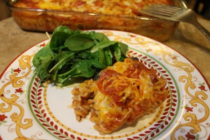 Quick and Easy Pizza Casserole Recipe