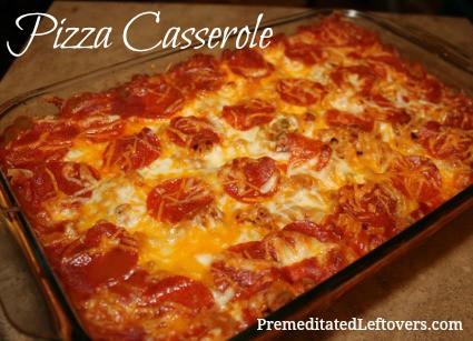Pizza Casserole Recipe - a family favorite!