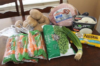 Smart and Final Easter Dinner Groceries