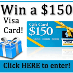 Pin It to Win It 150 Visa Gift Card