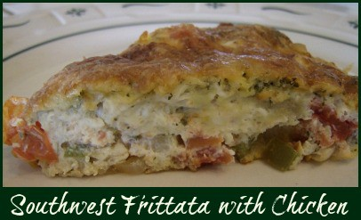 Southwest Frittata with Chicken Recipe
