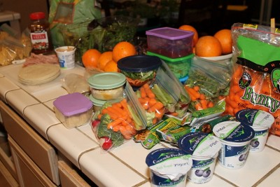 Take Back Your Morning by Making Lunches on Sunday night (400x267)