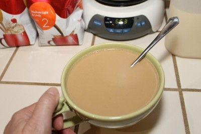 Take Back Your morning with Seattle's Best Coffee and Vanilla Caramel Creamer recipe (400x267)
