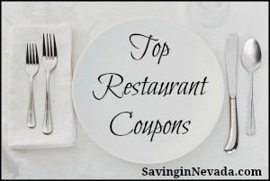 Top Restaurant Coupons from Saving in Nevada
