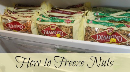 How to freeze nuts: what nuts can be frozen, tips for freezing nuts, and how to use thawed nuts