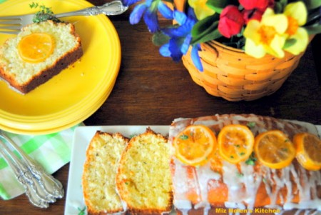Brunch Recipes including Candied Lemon Thyme bread from Miz Helen's Country Kitchen