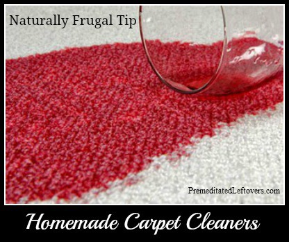 Homemade Carpet Cleaners And Stain Removers Natural And