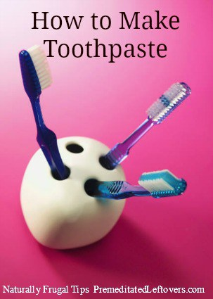 How to Make Your Own Toothpaste  - You can easily make homemade toothpaste with natural ingredients. Here is a list of homemade toothpaste recipes.