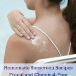 how to make sunscreen - chemical free recipes