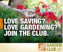 Save With The Home Depot Gardening Club