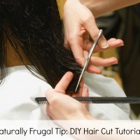 naturally frugal tip - diy haircut