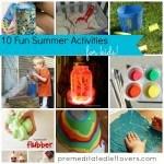 10 Fun Summer Activities for Kids