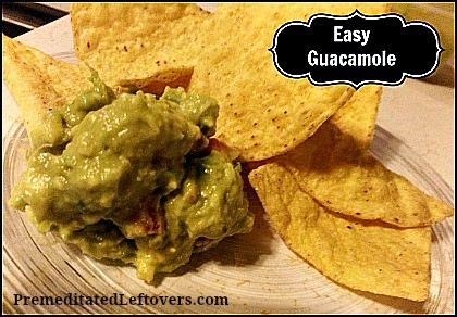Easy Authentic Guacamole Recipe