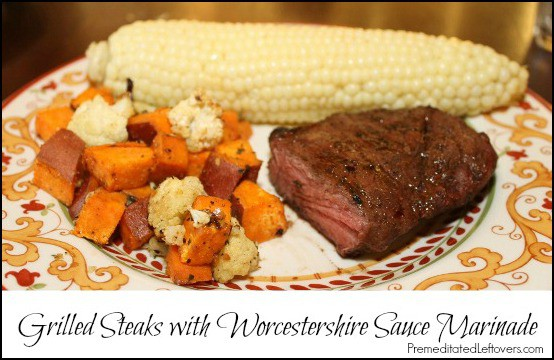 Quick And Easy Worcestershire Sauce Marinade Recipe For Grilling Steaks