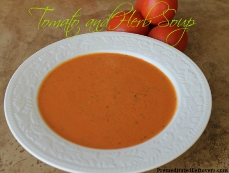 Tomato and Herb Soup Recipe
