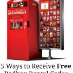 Five Ways to Receive Free Redbox Rental Codes + List of Free Redbox Rental Codes
