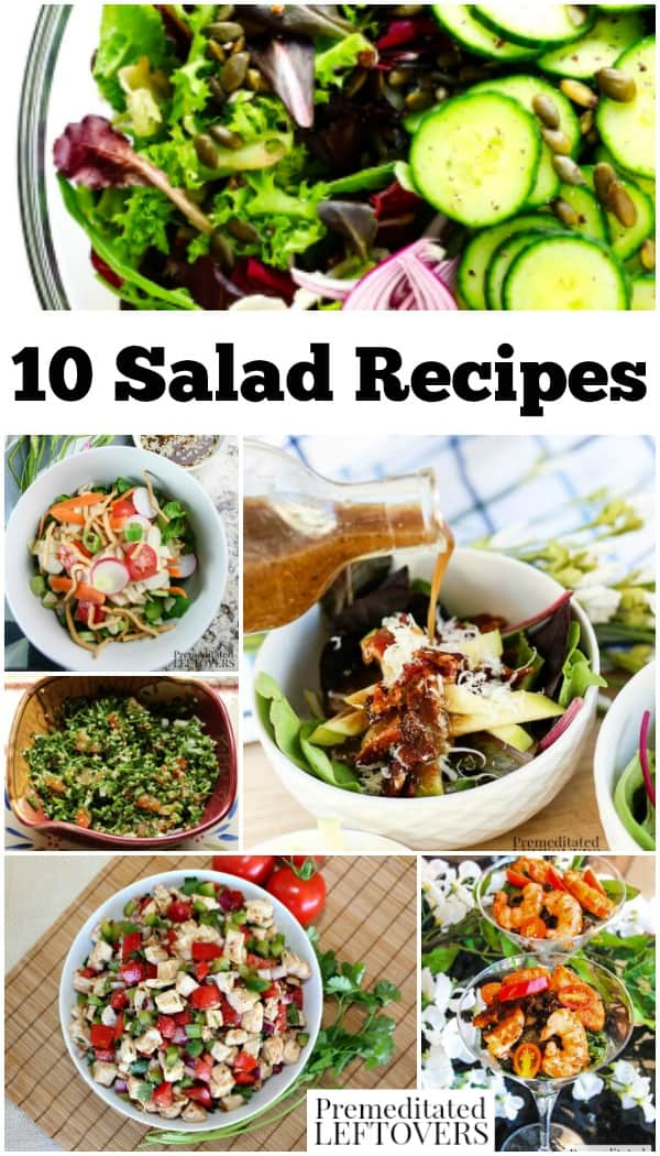 10 Delicious And Easy Salad Recipes To Make For Dinner